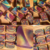 Rainbow Soap Cubes Specialty Soap