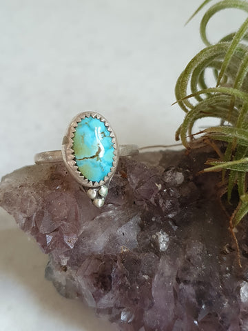 Turquoise Mt ring