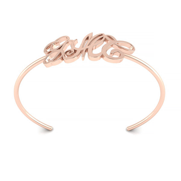 Monogram Adjustable Bangle Bracelet