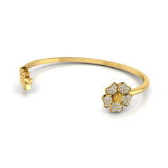 Unforgettable Leaf Adjustable Bangle For Mom