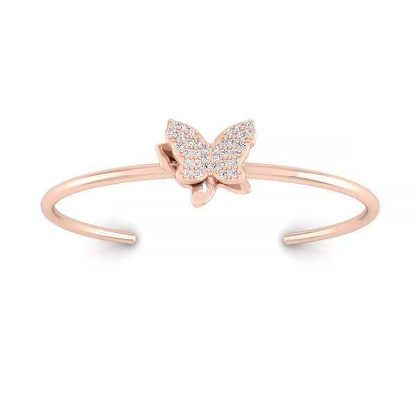Butterfly Flexible Bangle For Mom