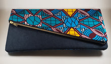 Geometric Pattern Clutch