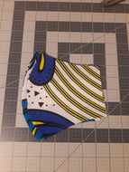 Face Mask(Blues and Yellow)