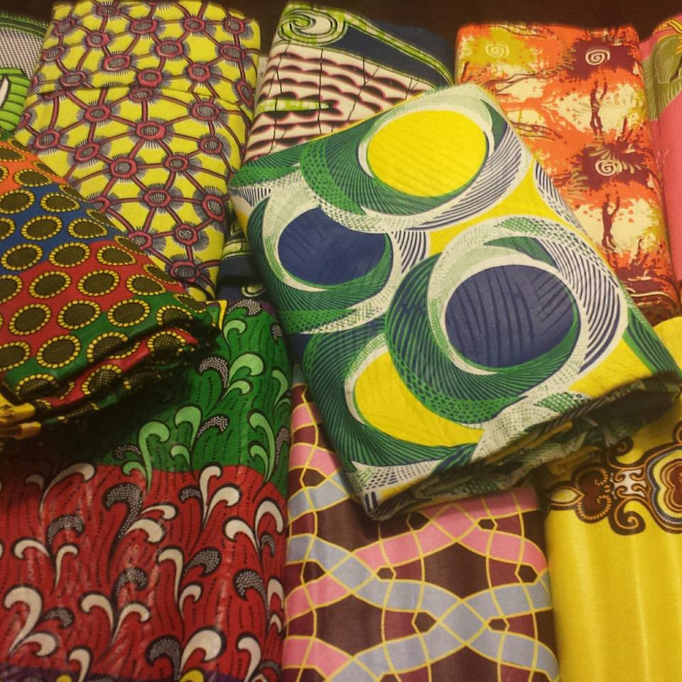 Bring Your Own Fabric Ankara Clutch