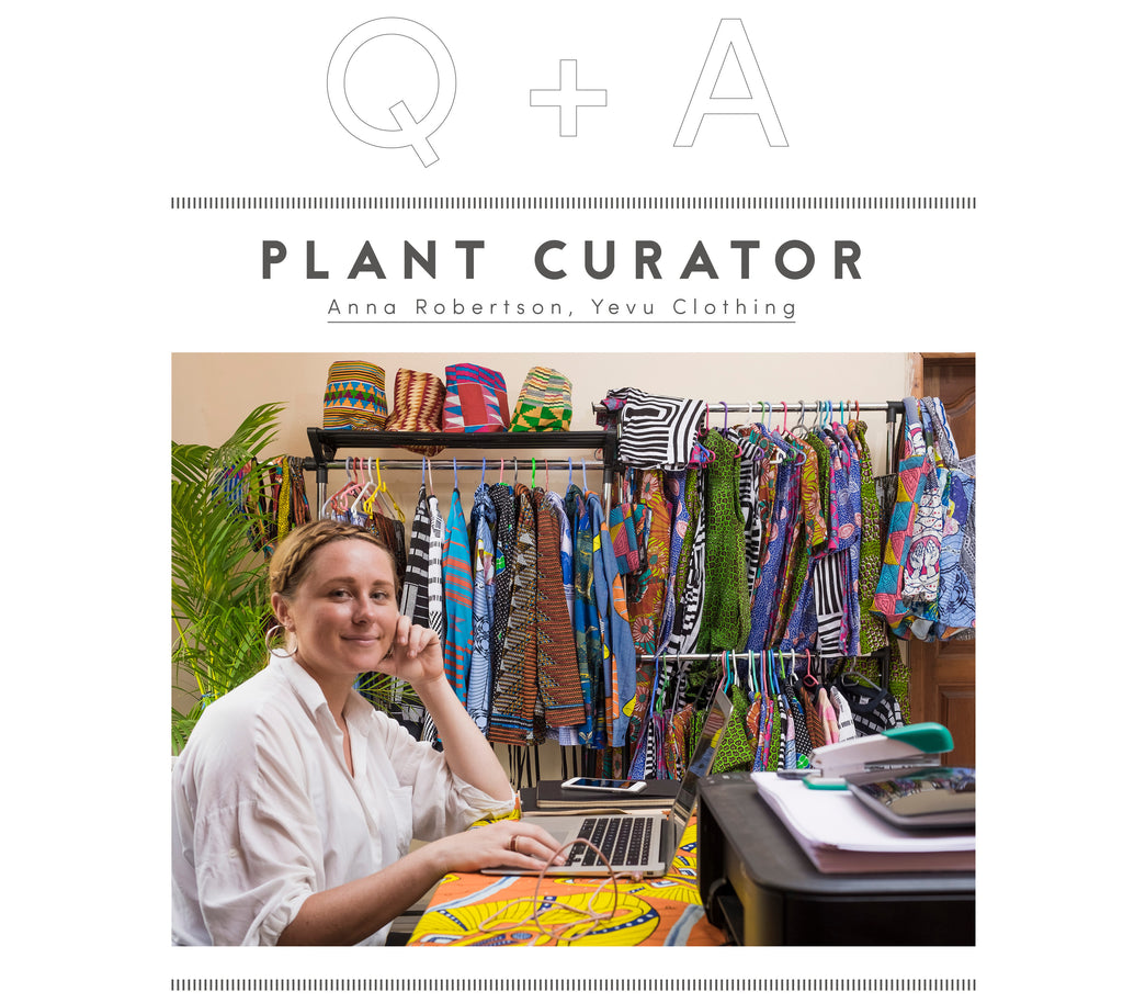 Plant Curator: Anna Robertson