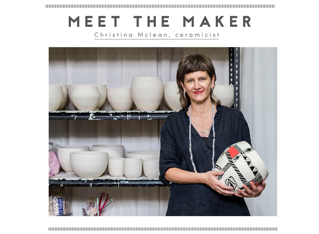 Meet the maker: Christina Mclean
