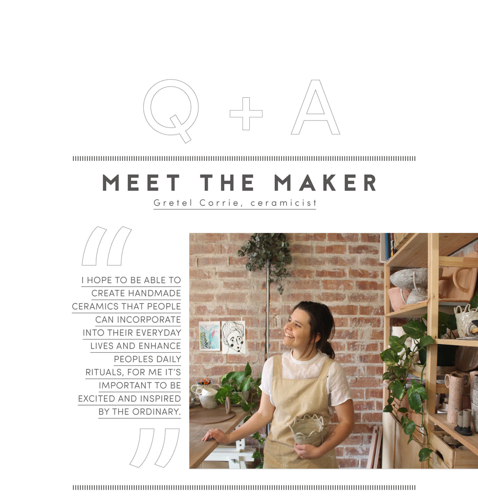 Meet the maker: Gretel Corrie