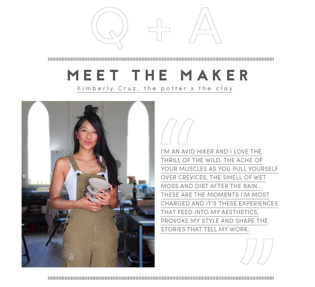 Meet the maker: Kimberly Cruz