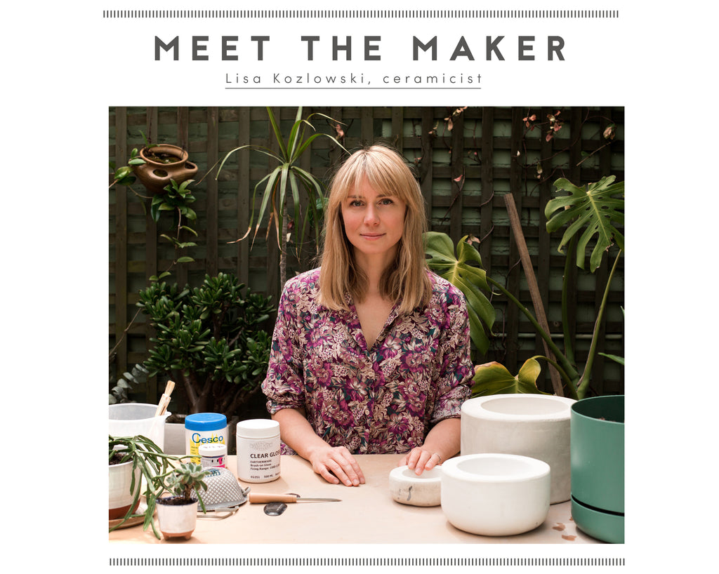 Meet the maker: Lisa Kozlowski