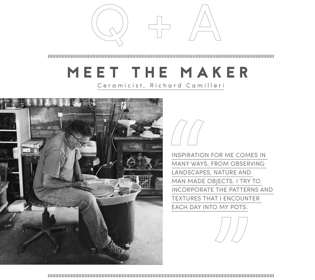 Meet the maker: Richard Camilleri