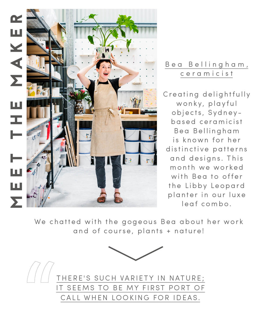 Meet the maker Bea Bellingham