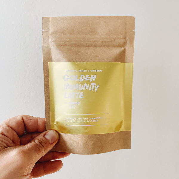 Ginger & Co Golden Immunity Latte
