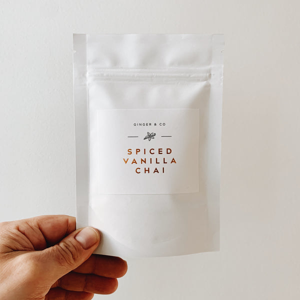 Ginger & Co Spiced Vanilla Chai