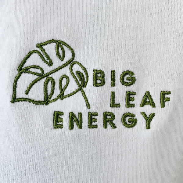 Big leaf energy tee