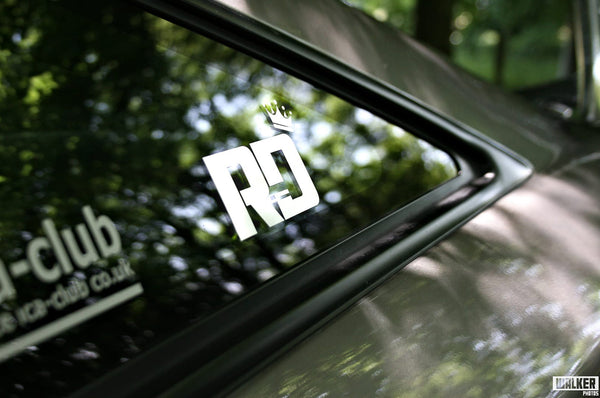 RD Crown Sticker