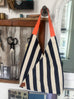 PERFECT POUCH - Navy Stripe