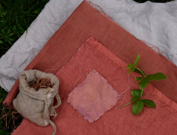 Dyeing Linen with Madder