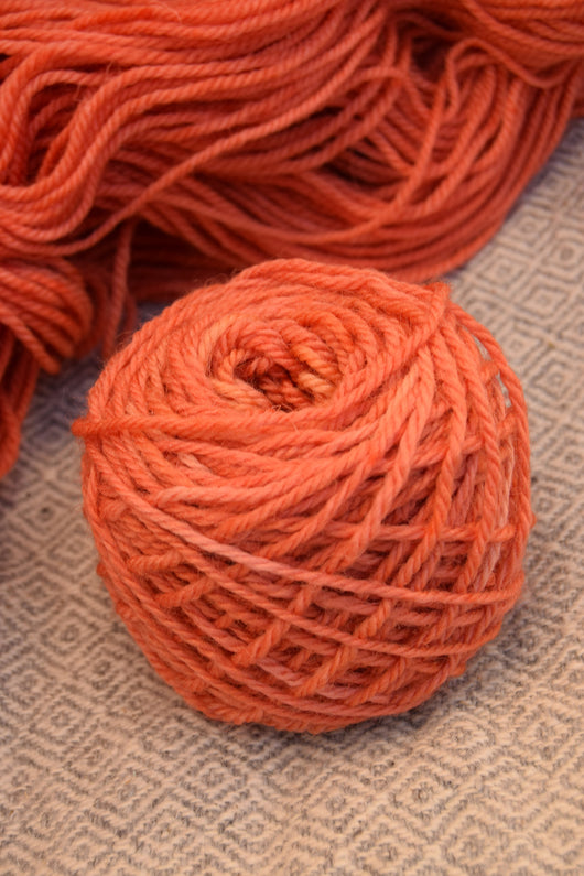 Orange (Madder) Yarn