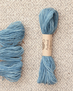 Blue (Woad) embroidery thread/weaving yarn
