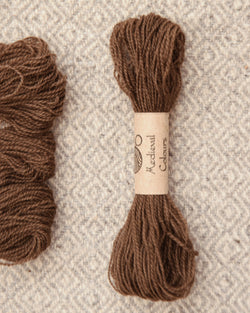 Brown (Madder+Iron) embroidery thread/weaving yarn