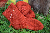 NEW Red (Madder) Yarn (Shetland sheep)