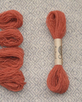 Red (Madder) embroidery thread/weaving yarn