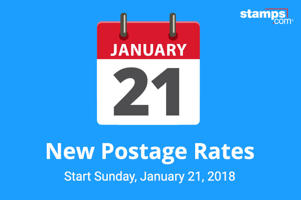 USPS SHIPPING RATE CHANGE