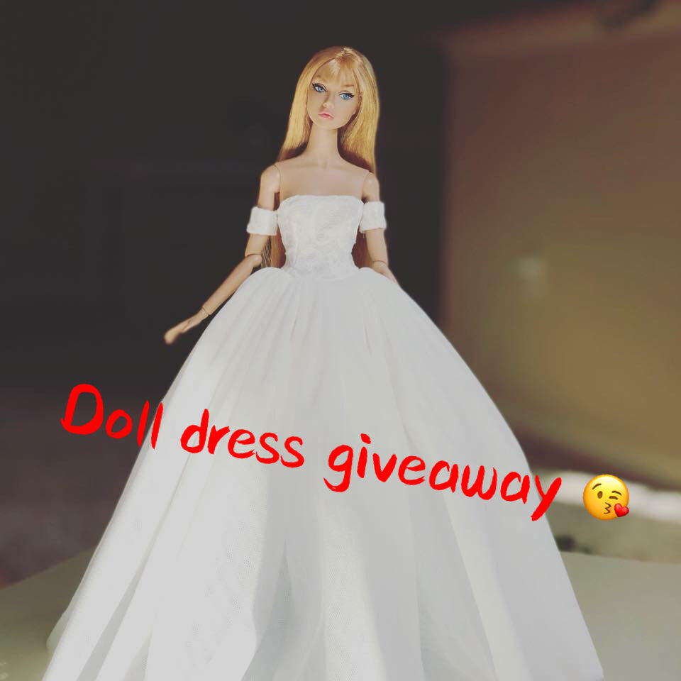 A giveaway your dolls are crazy about!!!