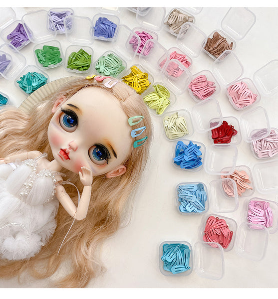 A015 Cute 2cm  Hair Accessories Hair Clips For BLYTHE 1/3 1/4 BJD Dolls