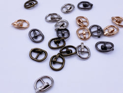 B001 Mini Metal Buckles Doll Sewing Supplies Doll Clothes Craft