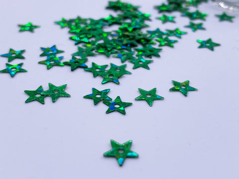 B070 5mm Sew On Star Plastic Sewing/Embroidery/Craft Sequins For Barbie BJD Blyt