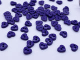 B082 Cute 6mm Heart Plastic Buttons Tiny Buttons Doll Buttons Sewing Craft