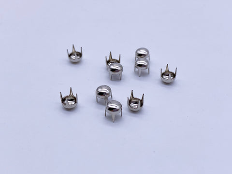 B083 Round Mini 4MM Craft Studs Sewing Craft Doll Clothes Making Sewing Supply 1