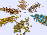 B098 Metal Color 6mm Mouse Head Buttons Micro Mini Buttons Tiny Buttons Doll But