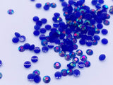 B110 Sparking 3mm Glue On Rhinestones Micro Mini Resin Rhinestones Doll Clothes