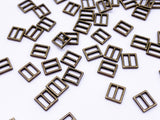 B120 Tiny Square 6×5.5mm Buckles Sewing Craft Belt Purse Coat Doll Clothes Makin