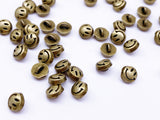 B131 Little Smiley Face 5mm Emoji Shank Buttons Micro Mini Buttons Tiny Buttons D