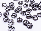 B133 Vintage Style 11×11mm Mini MetalPin Buckle Doll Clothes Sewing Craft