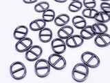 B146 Oval Shape 8×10mm Mini Metal Buckles Doll Sewing Supplies Doll Clothes Craf