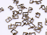 B149 Mini Basic Style 8.5×5.5mm 5.5×5mm Metal Pin Buckle Doll Clothes Sewing Craft Supply Blythe BJD Barbie