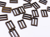 B151A Gold Textured Buckle Mini Buckles Sewing Craft Doll Clothes Making Sewing Supply