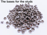 B153 5mm Skull Head Shape Mini Rivet Studs Doll Clothes Sewing Craft Doll Sewing Supply