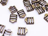 B169 7×9mm Mini Buckles Sewing Craft Belt Purse Coat Doll Clothes Making Sewing Supply