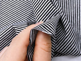 F002 1mm Tiny Stripes 45×40cm Stretchy Fabric Doll Sewing Craft Doll Clothes