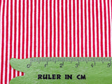 R002A 1mm Tiny Stripes 50×40cm Stretchy Fabric Doll Sewing Craft Doll Clothes Ma