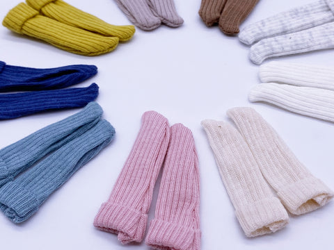 C027 Super Cute Handmade Colorful Doll Socks For Blythe Barbie Azone PP FR 1/6