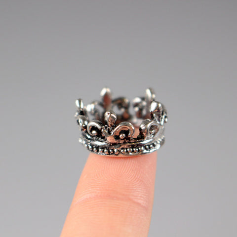 A003 Mini Crown Charm Doll Hair Accessories Barbie Blythe BJD PP FR Momoko