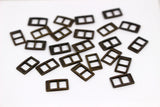 B021 Mini Rectangular Buckles Doll Clothes Sewing Craft Supply Blythe BJD Barbie