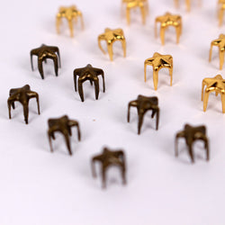 B033 Star 5mm Mini Studs Doll Clothes Sewing Craft Supply Blythe BJD Barbie