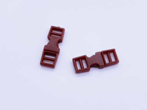 B118 Super Cute Mini Side Release Plastic Buckles Doll Sewing Supplies 2 Pairs